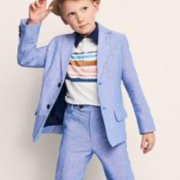 combinazione Mente Separazione  Cat & Jack Jackets & Coats | Boys Light Blue Linen Blazer | Poshmark